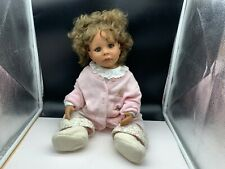 Monika Peter Leicht Künstlerpuppe Vinyl Puppe 52 cm. Top Zustand