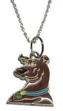Scooby Doo Enamel Filled Character Metal Pendant Necklace