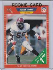 DERRICK THOMAS ROOKIE CARD 1989 Pro Set RC Kansas City Chiefs HOFer!