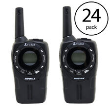 Cobra CXT235 MicroTalk 20 Mile FRS/GMRS 22 Channel 2 Way Walkie Talkie (24 Pack)