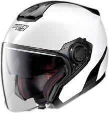 CASCO HELMET JET SPECIAL N-COM PURE WHITE N40.5 NOLAN SIZE  XS