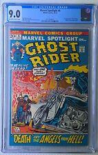 MARVEL SPOTLIGHT on... GHOST RIDER #6 CGC 9.0 Oct 1972 2nd App Johnny Blaze