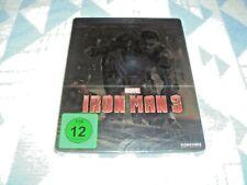 Iron Man 3 - Steelbook [Blu-ray] [Limited Edition]  NEU OVP