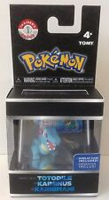 Pokemon Totodile 2 inch Figure incl. display case & ID Tag * New * Tomy