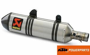 AKRAPOVIC KTM HVA HUSABERG  SLIP-ON LINE