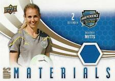 2010 Upper Deck Major League Soccer 'WPS Materials' Card Different Variations