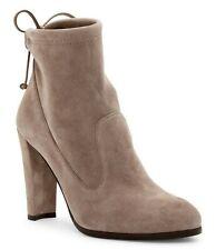 New STUART WEITZMAN Mitten Suede Bootie Shoes, Topo, US 11