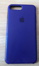 Genuine Apple iPhone 8 Plus Silicone Case - Ultra Violet. Small Defect