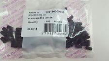 100 PCS. SKIFFY 302-1100-599-35 BLACK NYLON SPACER 5X10 M2