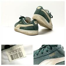 Puma Suede Classic Green Men's Size 7.5 hip hop OG break dancing 🔥🔥