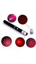 Bolígrafo Puntero Laser Rojo 1 mV efecto de estrella Tapa laserhead láser luz UK