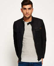 Superdry Biker Jacket Jackets S-charcoal Resinated