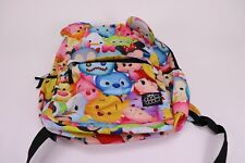 Disney Tsum Tsum Multi Character Backpack School Book Bag With Ears