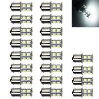 20 X Warm White 1156 13 SMD Camper Trailer LED Interior Light Bulbs 12V