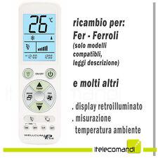 Telecomando per condizionatore climatizzatore Ferroli (no Fer) aria condizionata