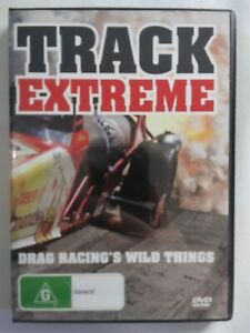 TRACK EXTREME DRAG RACING With Wild Things DVD Documentary FREE POSTAGE