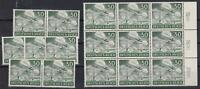 NAZI 3rd Reich MNH AIRBORNE PARATROOPERS  16 Stamps!!