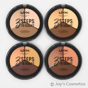 "1 NYX 3 Steps to Sculpt Face Sculpting Palette ""Pick Your 1 Color"" Joy's"