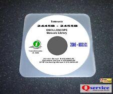 Tektronix Tek 2445b Service Operators Gpib Hi Resolution Manuals Cd A3 Diags