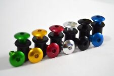 Windshield Low Profile Aluminum Bolt Set- Screws, Washers, Well Nuts