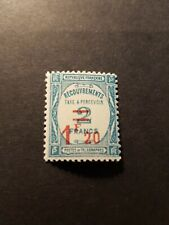 TIMBRE FRANCE TIMBRE TAXE N°64 NEUF ** LUXE MNH SIGNÉ 1929 COTE 130€