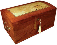 150 Count Cigar Humidor Case w/ Humidifier / Hygrometer - The Broadway