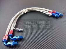 P2M Stainless Steel Braided Turbo Line Kit 240SX S14 S15 SR20DET Silvia Bottom