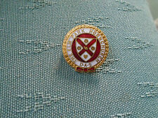 VINTAGE THE ELM PARK HORNCHURCH & DISTRICT ANGLING SOCIETY FISHING ENAMEL BADGE