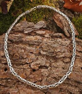"""""""Original"""" handgefertigte Königskette BALI 47cm/5,6mm 925 Silber Sterling Silber"""