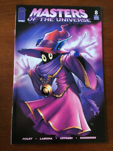 MASTERS OF THE UNIVERSE # 8 NM MVCREATIONS 2004 HE-MAN SKELETOR ORKO LAST ISSUE