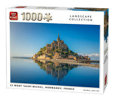 1000 Piece Landscape Jigsaw Puzzle Le Mont Saint-Michel Normandy France 05711