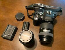 Olympus EVOLT E-500 8.0MP Digital SLR Camera - Black (Kit w/ 14-45mm and...