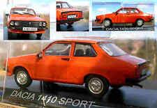 DACIA 1410 SPORT scale1/43  - unopened- orange - Renault 12 family