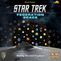 Catan Star Trek Federation Space Map Set - Asmodee - New Board Game