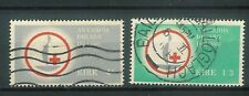 G4 Eire / Ireland used stamp Centenary of Red Cross 1963 Sg 197 198