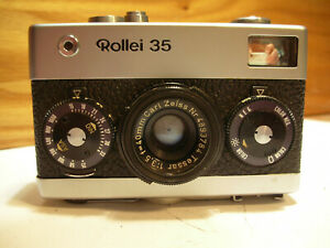 Rollei 35 made in germany avec CARL ZEISS TESSAR 40 mm