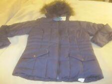 NWT  Columbia Women's Faux Fur Hooded Winter Puffer Jacket Coat Sz Large~ 3330