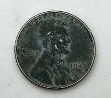 1943 Lincoln Steel Penny Wheat Cent USA Coin US Circulated