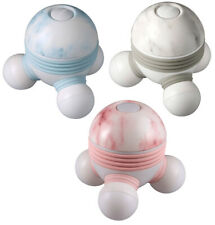 NEW HoMedics Pink Blue or Gray Marble Novelty Hand Held Light Up Mini Massager