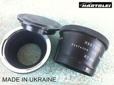 Hartblei Pentacon Six 6 P6 Kiev 60 88CM Lens to Leica R Camera Adapter+MACRO