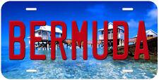 Bermuda Aluminum Novelty Car License Plate P01
