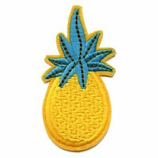 Pineapple Embroidered Applique Iron On Patch