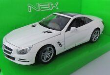 2012 Mercedes-Benz SL500 / Modellauto / Nex Models / Weiß /1:24 / Welly/Neu/OVP