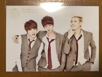 BTS 1st Fan Meeting official Japan suga jin rm photo card 1 sheet