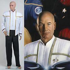Star Trek Insurrection Nemesis Mess Dress Uniform White Costume [Custom Made]