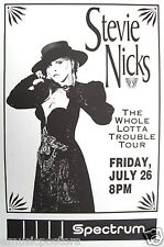 "Stevie Nicks 1991 ""Whole Lotta Trouble Tour"" Philly Concert Poster-Fleetwood Mac"