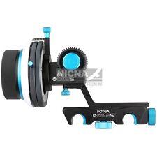 Fotga DP500IIS QR dampen follow focus A/B hard stop for 5DII III 7D D90 camera