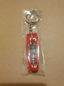 Supreme Red Skeleton Keychain