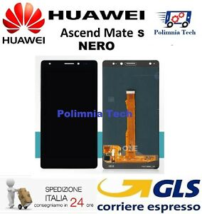 DISPLAY HUAWEI MATE S  NERO - DISPLAY LCD + TOUCH SCREEN - CRR-L09 CRR-UL00