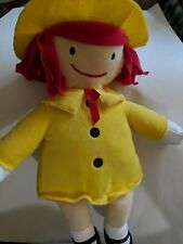 """Kohls Cares Madeline Plush Stuffed Doll Toy 13"""""""